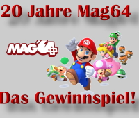 20 Jahre Mag64 - Das Gewinnspiel